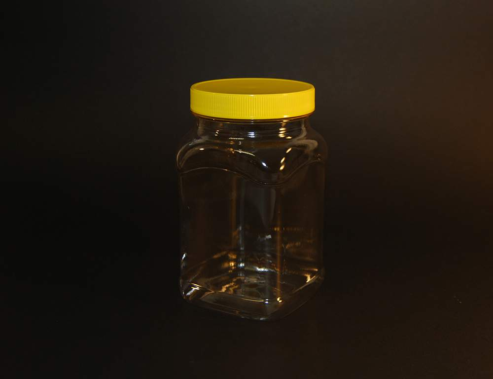 370ml Square PET Jar