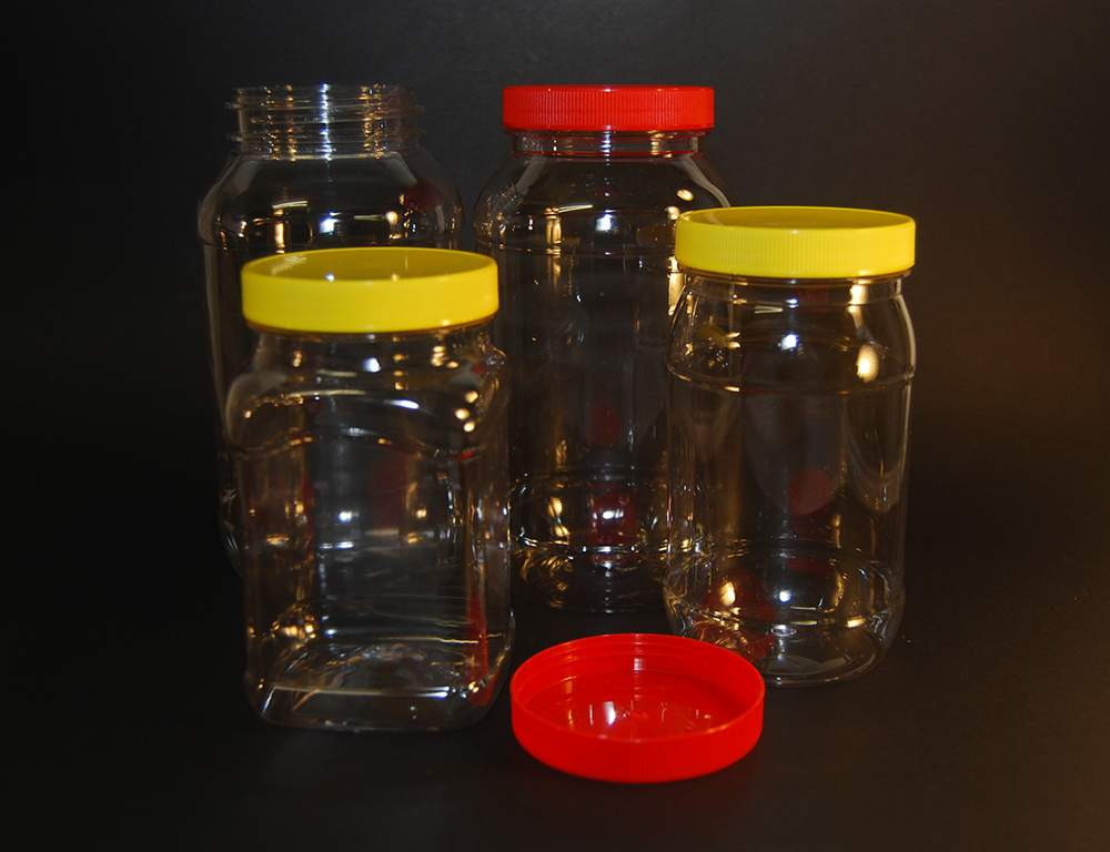 PET Jars Assorted